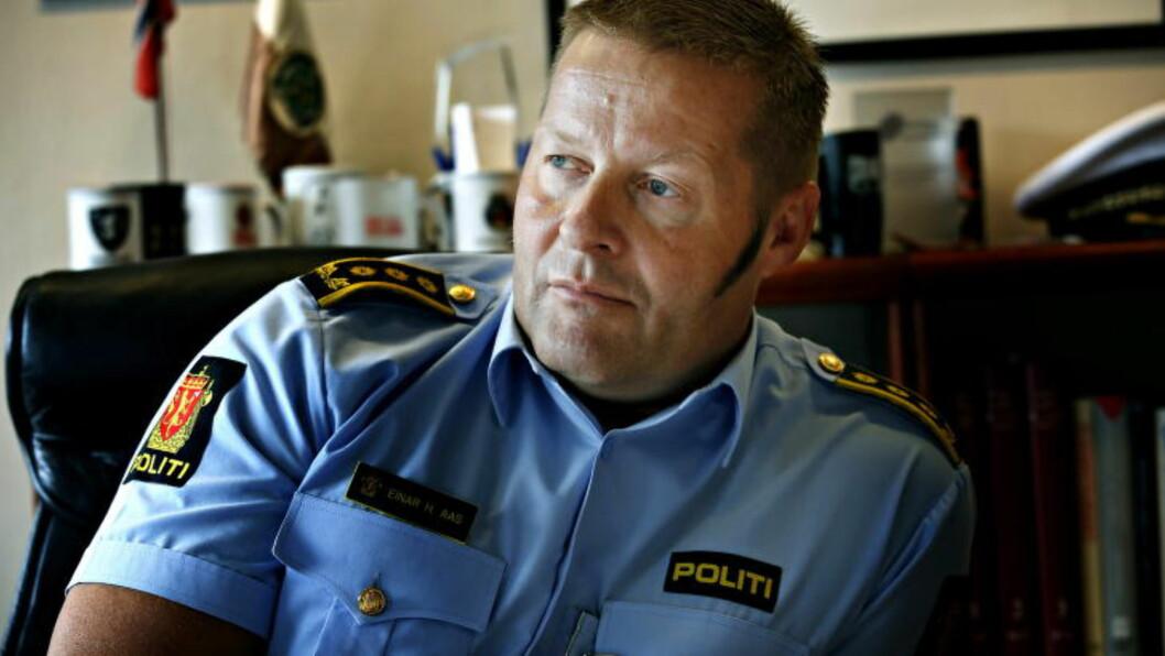 <strong>GJENNOMFØRTE PÅGRIPELSER:</strong>  Sjef seksjon Organisert Kriminalitet ved Oslo politikammer Einar Aas.   Foto: Jacques Hvistendahl / Dagbladet
