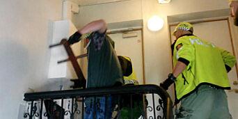 image: Her går politiet til storaksjon
