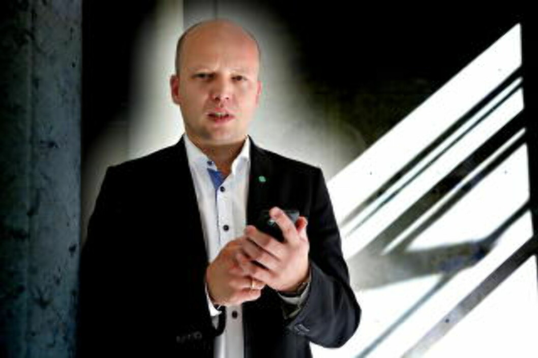 <strong>SENTERPARTIET:</strong> Sp-leder Trygve Slagsvold Vedum. Foto: Jacques Hvistendahl