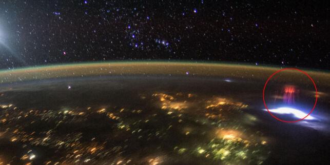 image: Hva var det astronauten tok bilde av over Mexico?