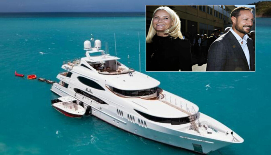 <strong>MILLIONBÅT:</strong> Det koster 250 000 dollar i uka, omlag 2 millioner kroner, å leie luksusyachten «Mia Elise». Foto: CharterWorld / Nina Hansen / Dagbladet
