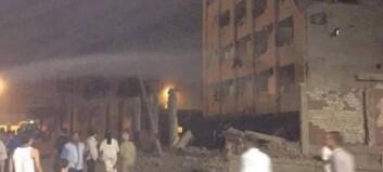 Kairo rystet av tre eksplosjoner