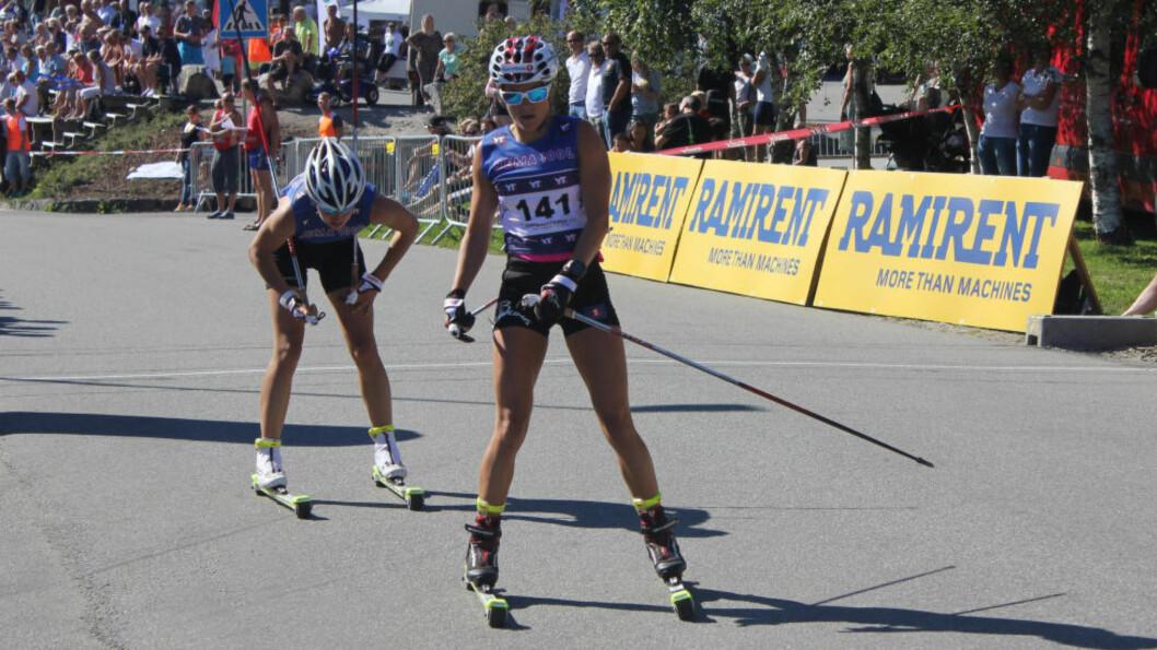 <strong>I SLAG:</strong> Heidi Weng har vist god form så langt under Toppidrettsveka. Foto: ØYVIND GODØ