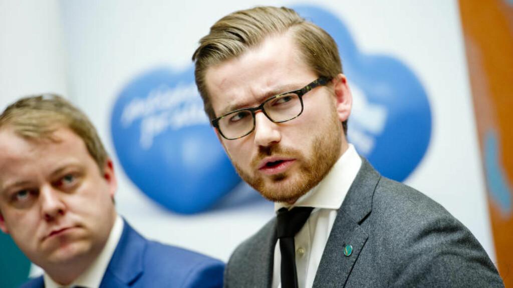 ØNSKER INNSYN: Sveinung Rotevatn (V) mener det er behov for større åpenhet rundt økonomien til medlemmene av kongehuset.  Foto: Jon Olav Nesvold / NTB scanpix