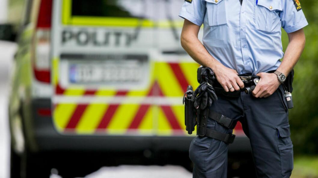 <strong>TO NYE VÅDESKUD:</strong> Det er registrert to nye vådeskudd i to forskjeligge politidistrikt. Foto: Vegard Wivestad Grøtt / NTB Scanpix