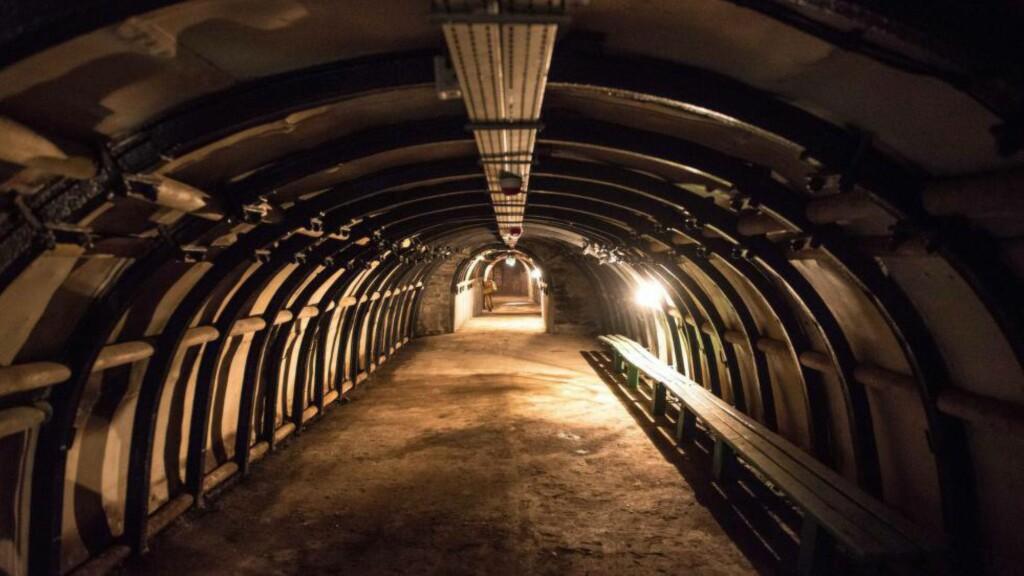 GULL-TOG?: To skattejegere hevdet å ha funnet et tog fra andre verdenskrig i en lenge glemt tunnel under den polske landsbygda. Nå bekrefter myndighetene at de har funnet et tog, men foreløpig ikke hva det inneholder. Foto: EPA / MACIEJ KULCZYNSKI / NTB Scanpix