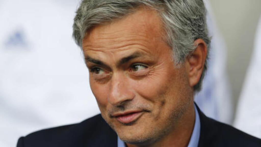 KLARE FOR CHAMPIONS LEAGUE: José Mourinho og Chelsea. Foto: Scanpix