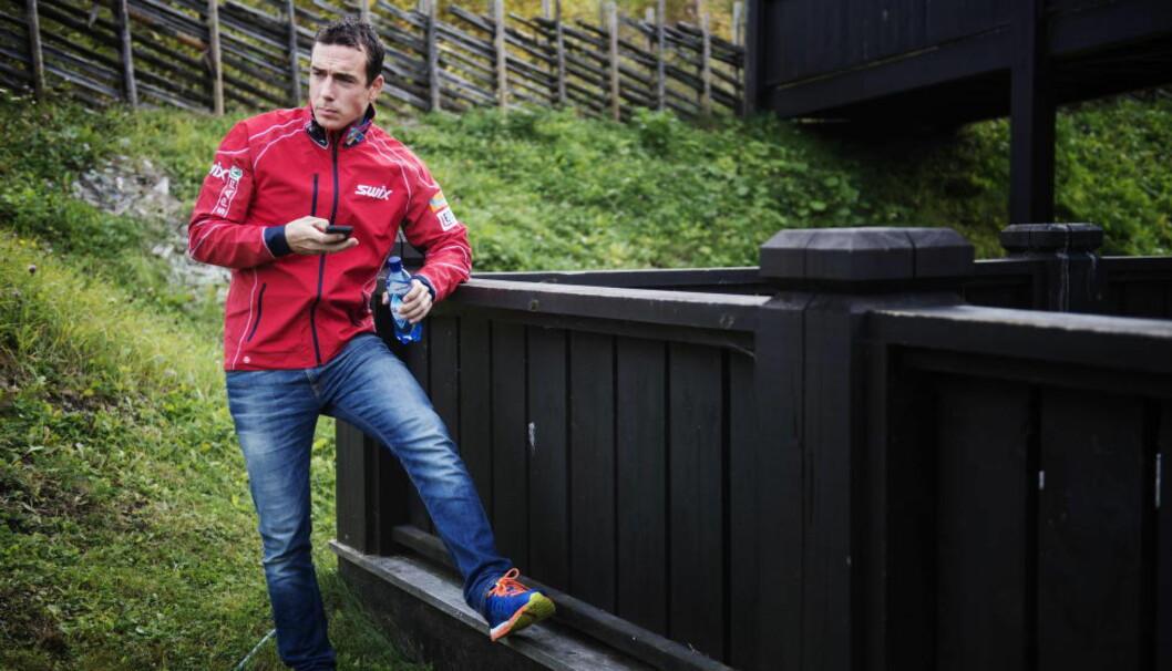 <strong>UVANT:</strong> Eldar Rønning er ikke en del av landslaget denne sesongen. Det synes veteranen er veldig spesielt og uvant. Foto: Benjamin A. Ward / Dagbladet