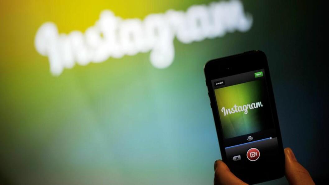 <strong> NY FUNKSJON:</strong>  Nå kan du legge ut bilder i flere formater på Instagram. Foto: NTB Scanpix