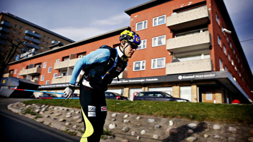 SERIØS: Øystein Pettersen har blitt mer dedikert i treningsarbeidet. Foto: Jacques Hvistendahl / Dagbladet