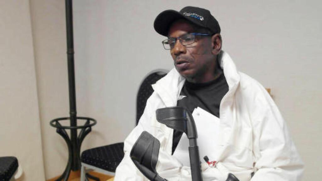 HARDT SKADD: Boubacar Ba opplevde det som tøft å bli anklaget for juks av sitt forsikringsselskap. Foto: Asle Hansen