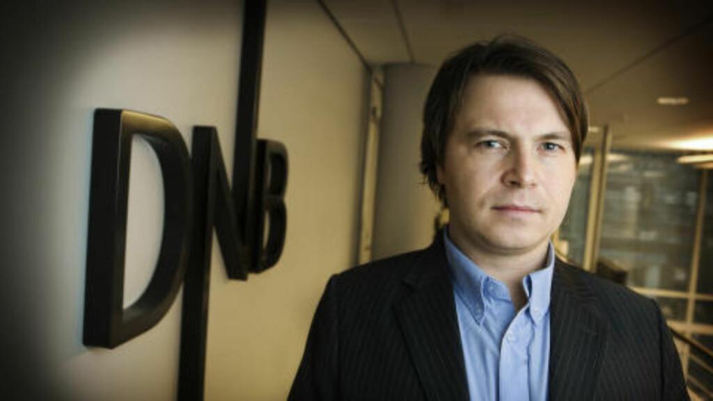 IKKE FORSKJELLSBEHANDLING: Kommunikasjonsrådgiver Vidar Korsberg Dalsbø. Foto: DNB