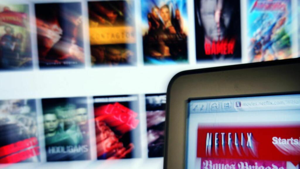 «NETFLIX AND CHILL»: Å bruke strømmetjenesten Netflix er det mange som gjør. Men hva uttrykket «Netflix and chill» betyr, er kanskje ikke kjent for alle. Foto: Frank Karlsen / Dagbladet