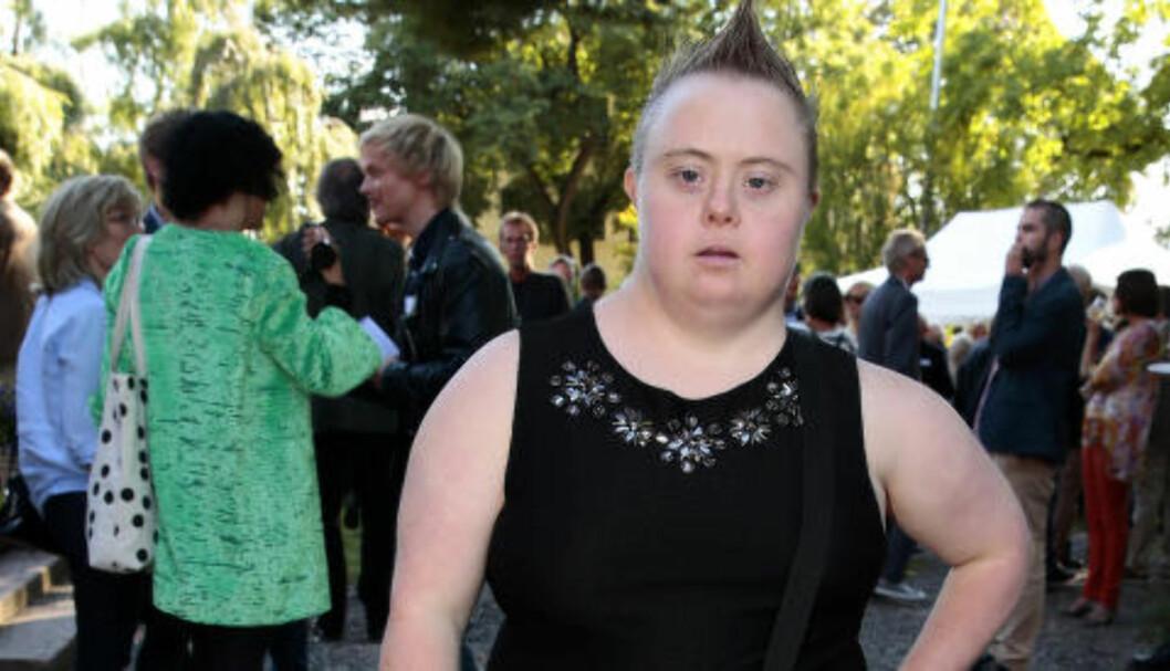 <strong>KJEFTA NED:</strong> Slik ser skuespillerinne Marte Wexelsen Goksøyr ut til vanlig. I «Hvem bryr seg» blir hun kjeftet ned av en kunde. Marco Elsafadi beskriver hendelsen som vanskelig for Goksøyr, til tross for at det var skuespill. Foto: Håkon Mosvold Larsen / NTB scanpix