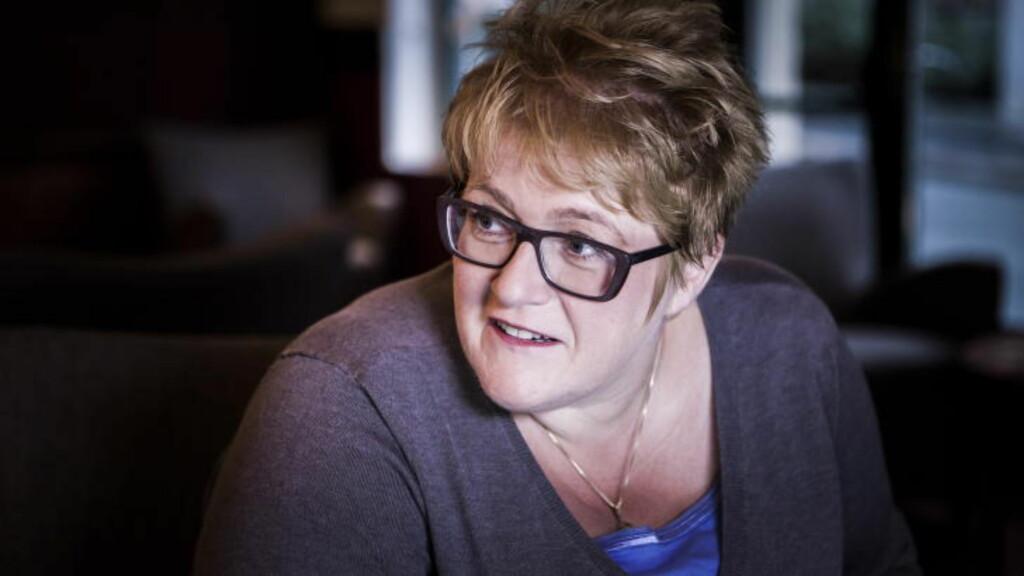 TAJIKS FEIL: Trine Skei Grande skylder på Ap-toppen. Foto: Halvor Solhjem Njerve / Dagbladet
