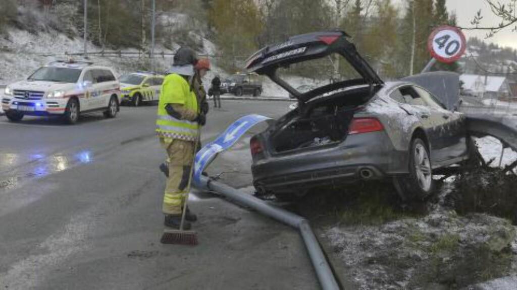 I STORFILM: Også dette bildet blir brukt for å illustrere dødsulykken. Foto: Henrik Sundgård / NTB scanpix