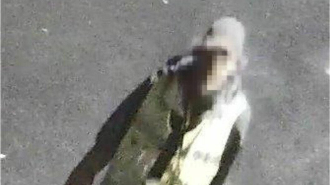 <strong> GJORDE INNBRUDD I NATT:</strong> En mann gjorde i natt innbrudd ved Halden Taxi utkledd som vekter. Foto: Bent Skogli