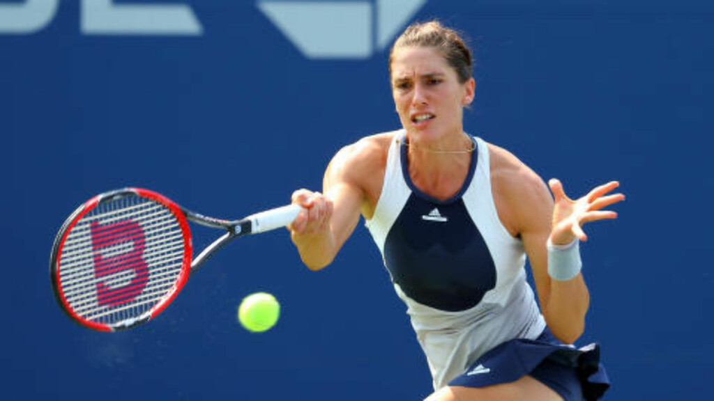 KLAGER:  Andrea Petkovic liker ikke air-condition under US Open. Foto: : Jerry Lai-USA TODAY Sports  / Reuters