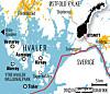 kart hvalerøyene På Hvaler finner du 833 øyer, holmer og skjær, og Norges største  kart hvalerøyene