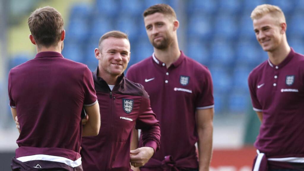 KLAR FOR REKORD: Hvis Wayne Rooney scorer to mål mot San Marino i kveld, blir han tidenes målscorer for det engelske landslaget. Foto: Action Images / Reuters / Carl Recine / NTB Scanpix