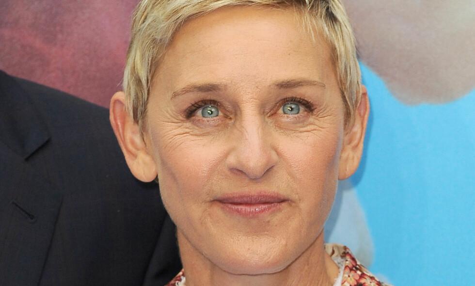 <p>HEDRER GEORGE MICHAEL: Ellen Degeneres er blant de mange kjente ansiktene som uttrykker dyp sorg over George Michaels plutselige bortgang. Foto: James Higgins / Splash News<br> </p><p><br> </p>