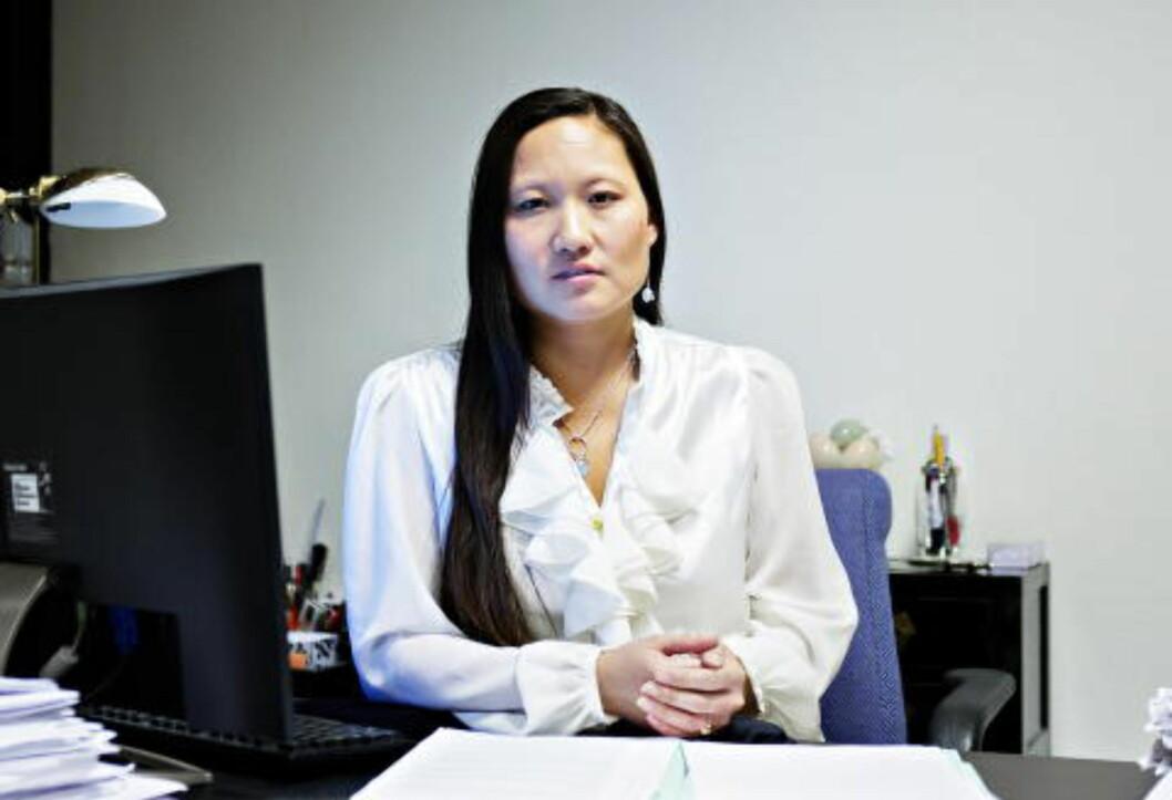 <strong>OPPRØRT:</strong> Advokat Trine Rjukan. Foto:Nina Hansen / Dagbladet