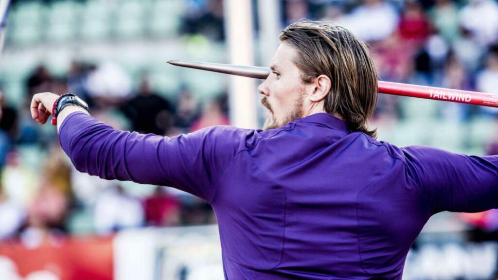 NY JOBB?:  For Andreas Thorkildsen. Foto: NTB Scanpix