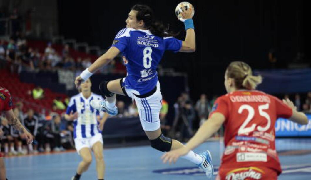 <strong>KAN SENKE LARVIK:</strong> Larvik må stanse Buducnosts rumenske stjerne Cristina Neagu om de skal vinne dagens Champions League-finale. I går scoret hun sju mål i semifinalen mot Vardar.