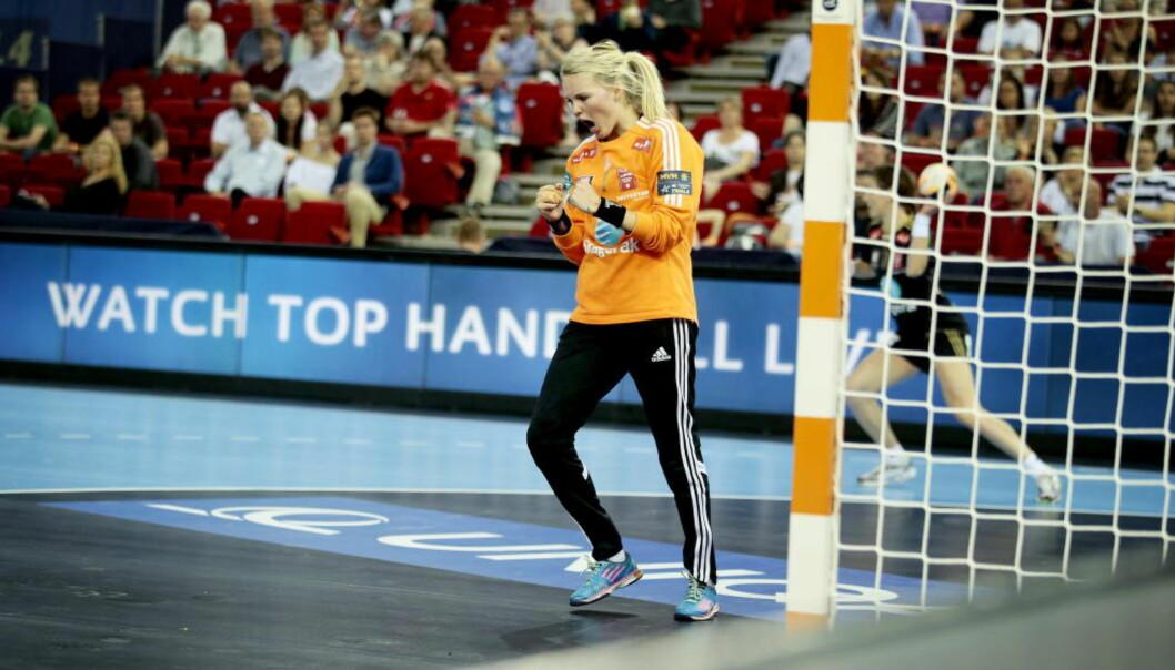 <strong>BESTE KEEPER:</strong> Larvik-keeper Sandra Toft er kåret til Champions Leagues beste målvakt. I dag blir hun helt avgjørende når Larvik spiller om Champions League-trofeet i finalen mot Buducnost.