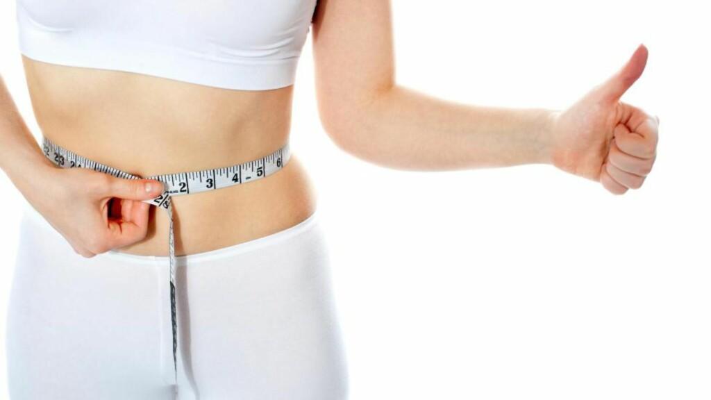 MIDJEMÅL: -  Midje-til-høyde er overlegen BMI som screening-metode for sykelighet og dødelighet, ifølge forfatter Margareth Ashwell. Foto: Colourbox