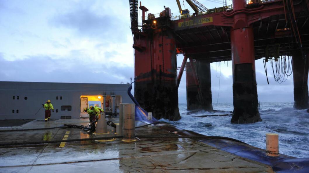 <strong>NEDGANG:</strong> Ingeniører på Vestlandet er mest påvirket av nedgangstidene i oljebransjen. I Rogaland frykter 32 prosent at de kan miste jobben.  Foto: © Per Eide / Samfoto
