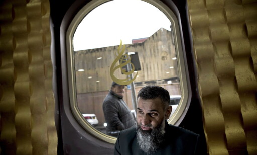 KARISMATISK MANN: Dagbladet møtte Anjem Chouadry i Ilford, London. Foto: Tomm W. Christiansen / Dagbladet