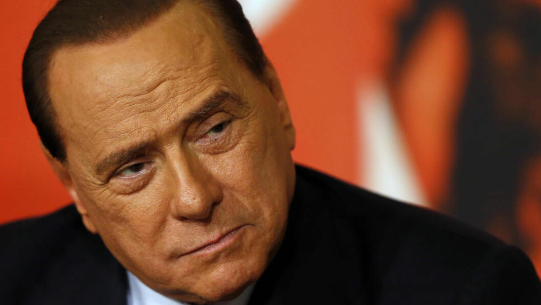 <strong>KUN ITALIENERE:</strong> Silvio Berlusconi ønsker å bare ha italienere spillende på sitt kjære Milan-lag. Foto:REUTERS / Alessandro Bianchi / Files / NTB Scanpix