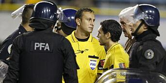 image: Argentinsk cupskandale: Sprayet pepperspray på spillerne