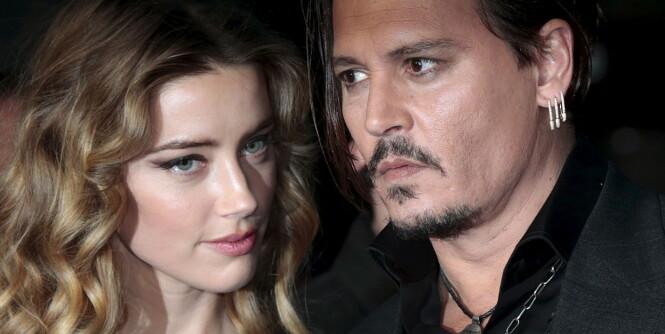Gråtkvalt Amber Heard snakker ut om partnervold, få måneder etter skilsmissen fra Johnny Depp