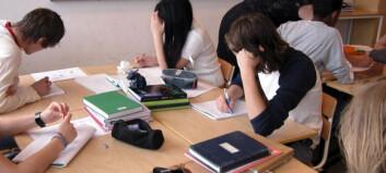 I fjor fikk 37 prosent av 10.-klassingene karakter 1 eller 2 på matteeksamen