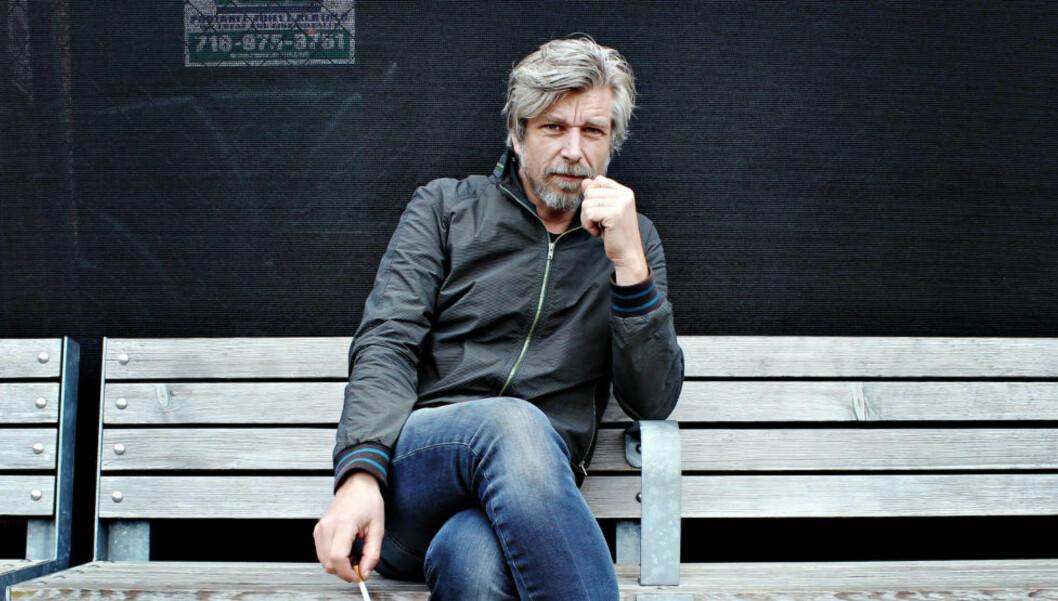 ARKTIS-KAMPANJE:  Forfatteren Karl Ove Knausgård er en av en rekke kulturpersonligheter som har signert et opprop mot oljeleting i Arktis. . Foto: Vegard Kristiansen Kvaale / Dagbladet