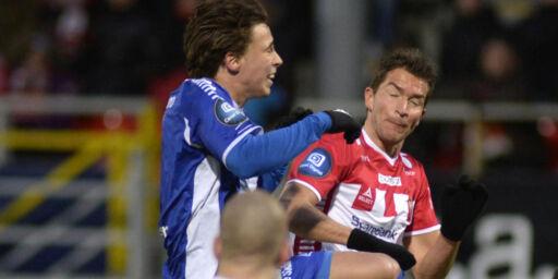 image: Tromsø-spiller måtte sy fire sting etter han falt om under fødsel: - Det svartnet