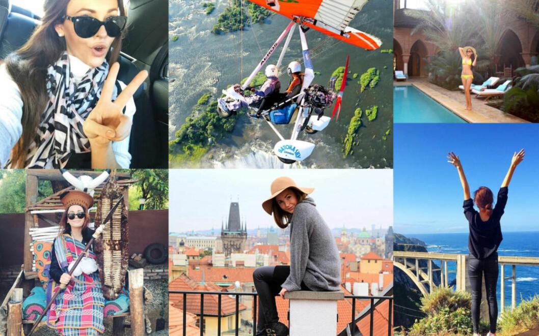 <strong>REISER VERDEN RUNDT:</strong> - Å reise er den beste måten å forstå verden på. Ved å reise ut og se verden med egne øyne, møte folk, snakke språket, smake maten og oppleve kulturen, lærer vi mer om verden rundt oss, skriver Brooke Saward i en e-post til Dagbladet. Foto: PRIVAT
