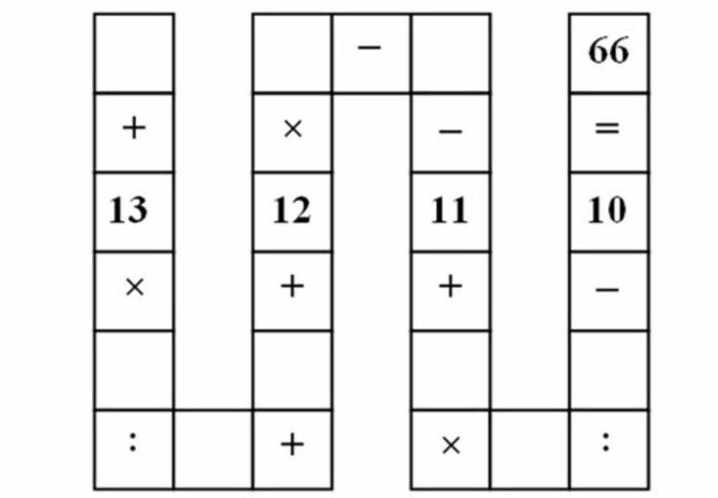 NØTT: I utgangspunktet høres kanskje oppgaven overkommelig ut. Det er ni ledige plasser i det som blir omtalt som «Den vietnamesiske slangen», og de skal, som både rader, kolonner og ruter i Sudoku, fylles med tallene 1-9. Foto: VN Express