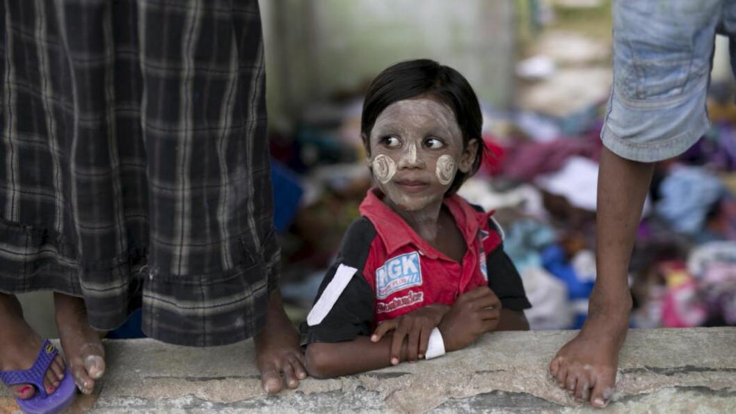 <strong>HJELPER:</strong> Norge gir 10 millioner kroner til lokale tiltak for å hjelpe rohingyaene i Myanmar. Foto: REUTERS/Darren Whiteside/NTB Scanpix