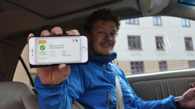 Øvelseskjøring app