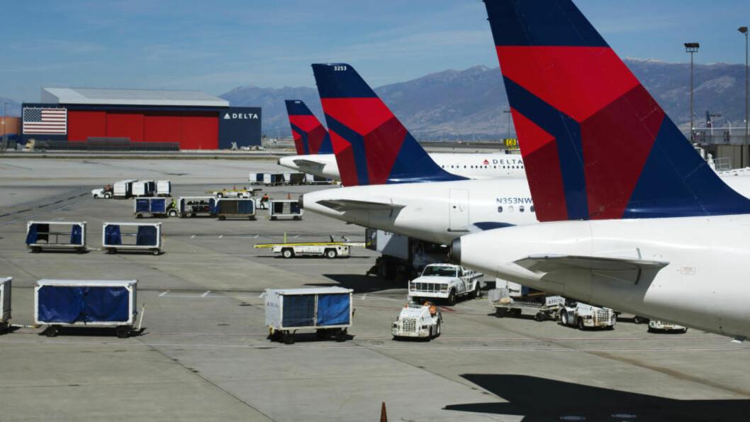 <strong>EFFEKTIV MEDISIN:</strong> Flyselskapet Delta har vært plaget med forsinkelser, men har funnet en effektiv medisin for å blidgjøre passasjerer. Her fra Salt Lake City International Airport. Foto: REUTERS/Lucas Jackson