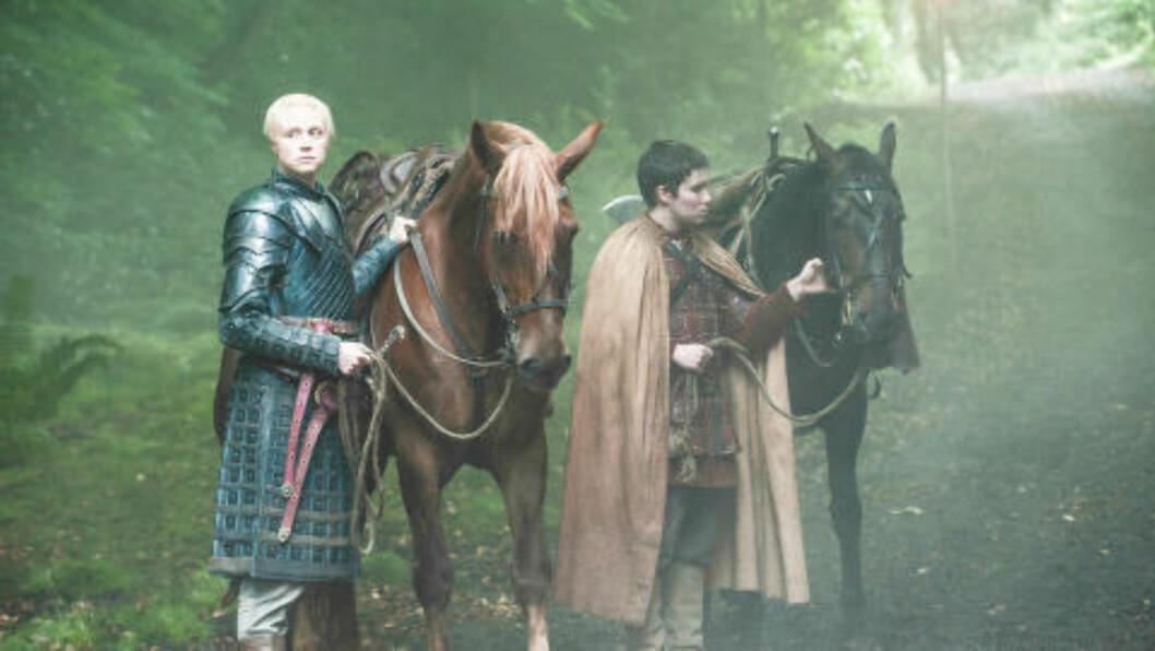 <strong>PARTNERE:</strong> Portman forteller at forholdet til Gwendoline Christie styrkes av deres samhold i serien. Foto: HBO