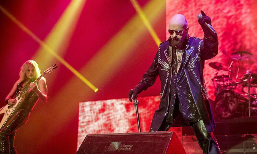 image: ANMELDELSE: Judas Priest er metal-fagets høye beskyttere