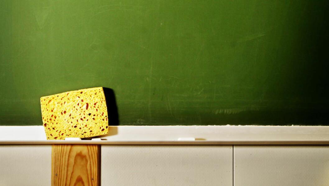 <strong>STYRKING:</strong> - Det første den nåværende regjeringen gjennomførte - de som i årevis har reklamert med at utdanning er det viktigste - var å øke andelen kristendomsundervisning i religionsfaget. For å si det forsiktig: Det er en hån mot skolen, mener lærer Håvard Tjora. Foto: Jørn H. Moen, Dagbladet