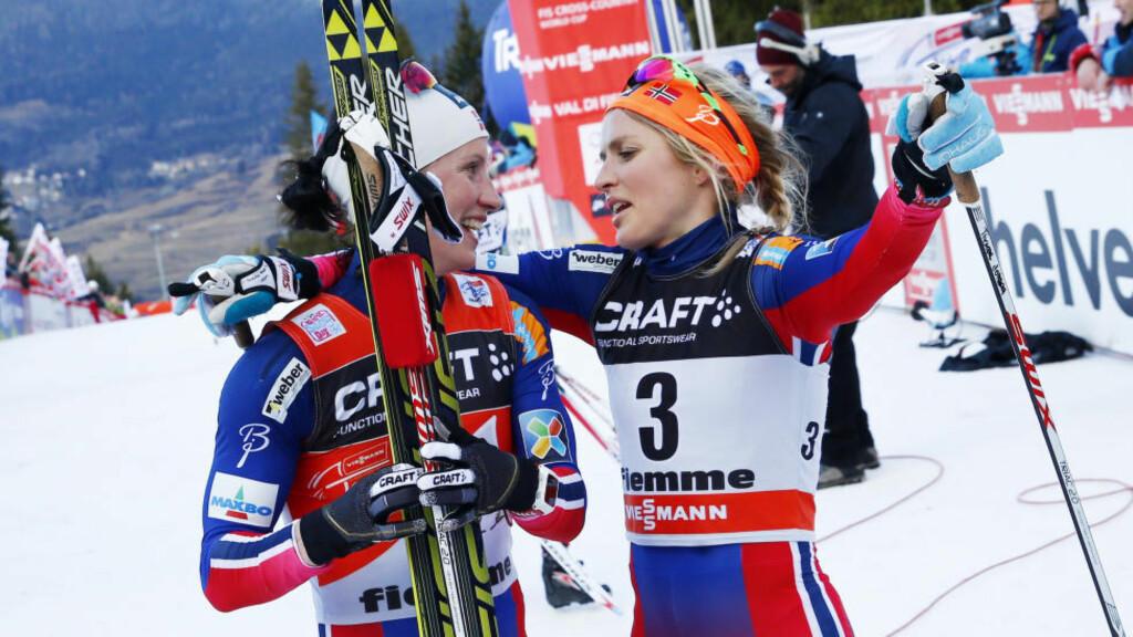 FOR HYGGELIG?  Den norske dominansen i langren svekker det internasjonale TV-markedet for sporten. FOTO: Heiko Junge / NTB scanpix.