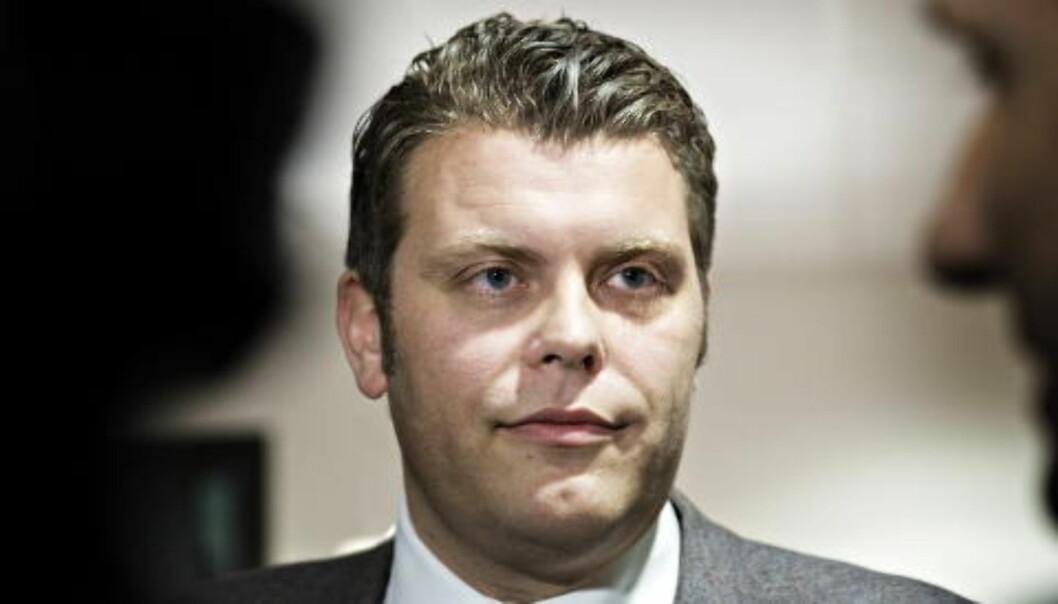 I ERITREA: Statssekretær i Justisdepartementet Jøran Kallmyr (Frp) Foto: Nina Hansen / Dagbladet