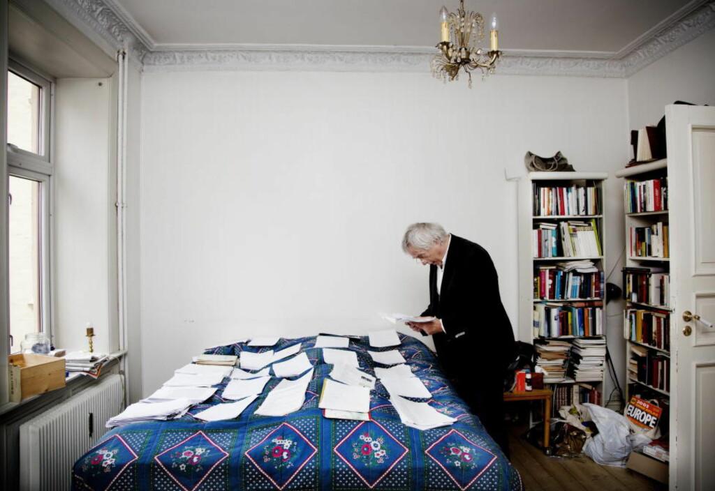 SKAPTE DEBATT: Dag Solstads slektsgranskende bok fra 2013 satte i gang en stor debatt om hva en roman egentlig er. Foto: Agnete Brun / Dagbladet