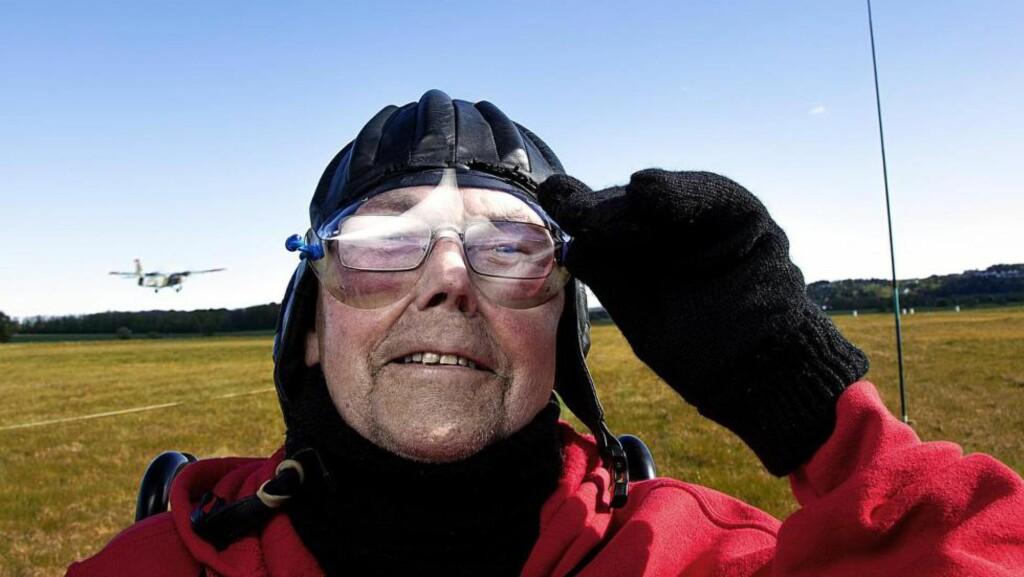 FIKK KREFT FOR TI ÅR SIDEN: Men i dag skal Jan Tjemsland (77) realisere enda en drøm. Foto: LARS MYHREN HOLAND